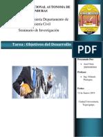 1.2 Objetivos de Desarrollo Sostenible