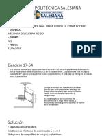 Mecanica de Cuepo Ejercicio Presentacion