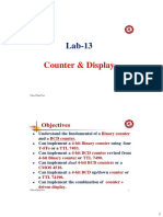 PDS Lab13 Counter & Display