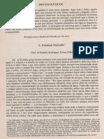 Friedrich Nietzsche - A Filosofia Na Época Trágica Dos Gregos (Os Pensadores, 1973 - Trechos)