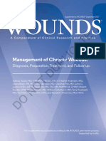 Management of Chronic Wounds
