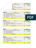 Parcial Final Tributos 23 Junio 2019 Asientos Contables