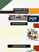 Proceso de Gestión de La Agroindustria