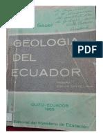 Geologia Del Ecuador - Walter Sauer