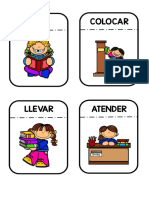 tarjetas de verbos
