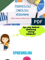 2. Epidemiologi Onkologi Kebidanan