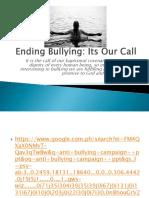 Antibullying Presentation 1