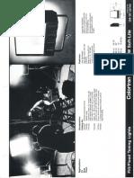 Lee Colortran 1kW & 4kW Soft-Lite Spec Sheet 1982
