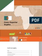 Como exportar - Argélia