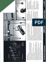 Lee Colortran Connector Strips Spec Sheet 1989