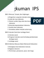 Rangkuman IPS