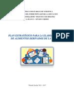 Plan Estratégico Para La Elaboración de Alimentos Derivados de La Yuca.