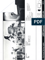 Lee Colortran Mini Soft-Lite Spec Sheet 1989