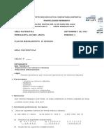 Tallerdenivelacionde3 Periodo Matematicade4b 140104162200 Phpapp02
