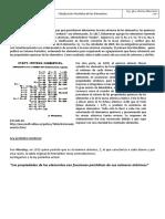 Apunte Tabla Periodica