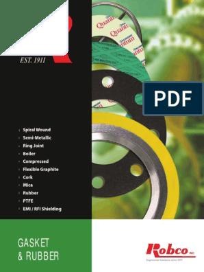 Gasket Brochure Complete MDS Eng | Metals | Carbon