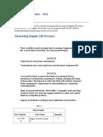 Engine Oil Pressure