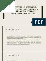 Defectos de La Acusacion Fiscal en Etapa Intermedia
