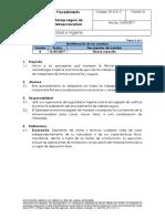 SH-CO-11_Ver 0_Procedimiento Manejo Seguro de Retroexcavadora