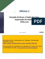Oficina 1 Busca Visualizacao Exportacao Questel Orbit