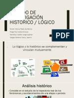 Muestreo Por Cuotas y Método Histórico