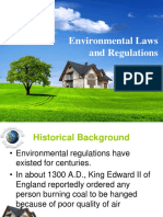 2. Environmental Laws and Regulations