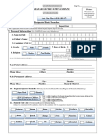 Asst. Line Man ALM BS 5 7 Registration and Bank Challan Form