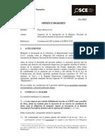 Opinión OSCE 084-12-2012 Vigencia Del RNP Durante La Ejecución Contractual