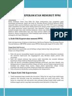 KODE ETIK KEPERAWATAN MENURUT PPNI 2.docx