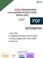 RANCANGAN Pemanfaatan DAK Non Fisik (BOK) TA 2020_kesmas