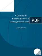 A Guide to Research Evidence on Teaching-Research Relations_Jenkins_EB.pdf