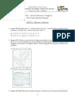 Lista 8 - Cálculo 2
