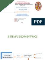Exposición Alteraciones Hidrotermales en Sistemas Sedimentarios y Aguas Connatas,