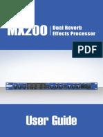 MX200 Manual 5073493-B Original