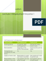 Lecture 2 Employment Income 1