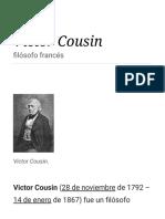 Victor Cousin - Wikipedia, La Enciclopedia Libre
