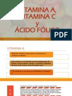 Presentación de Vitaminas