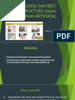 Refocusing Dan Best Practises Dalam Asuhan Antenatal