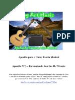 Apostila Para o Curso Teoria Musical - 3 - Tétrades