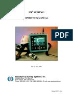 GPR GSSI Sir 2 Manual