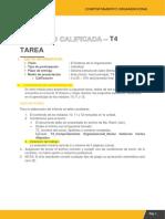 T4 Comportamiento Organizacional