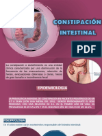 Constipación Intestinal