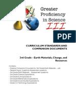 3rd Grade Earth Materials