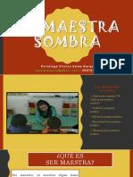 Seminario Taller 1 La Maestra Sombra
