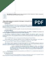 Notas Sobre o Prazo Para Oposição de Embargos à Execução de Contribuições Previdenciárias Na Justiça Do Trabalho