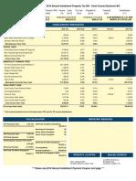 Olympia Field WalMart Tax Bills Five PIN #s