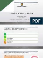 CLASE 1. FONÉTICA ARTICULATORIA