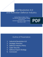 Thayer Industrial Revolution 4.0 and Australian Defence Industry
