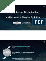 Huawei Indoor Digitalization Multi-operator Sharing Solution-LampSite 3.0-20170615.pdf