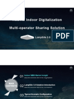 Huawei Indoor Digitalization Multi-operator Sharing Solution-LampSite 3.0-20170615.pdf